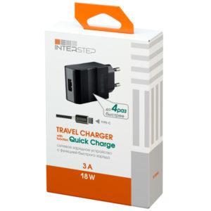 Блок питания — InterStep 1 USB 3A
