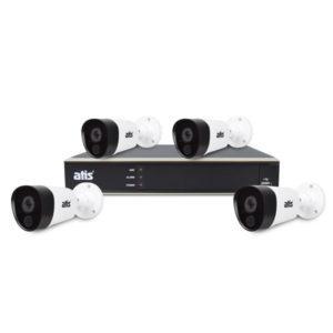 ATIS PIR kit 4ext 2MP Комплект видеонаблюдения ATIS L